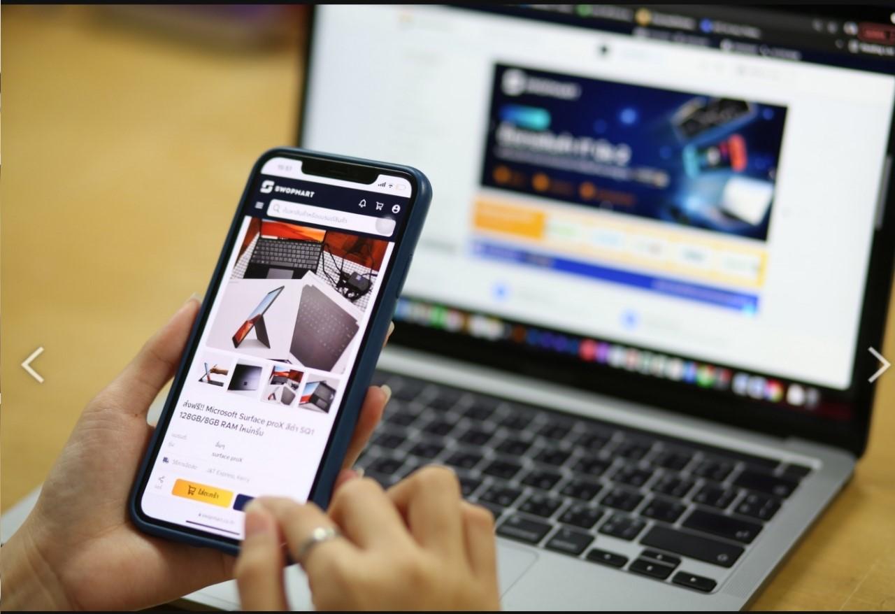 """SYNNEX จับมือ SCB 10X ร่วมพัฒนา """"SWOPMART"""" แพลตฟอร์มซื้อขายสินค้าไอทีมือสอง"""